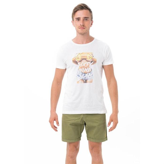 [69슬램] 남여공용 아보카도(화이트) 디앤에이 티셔츠