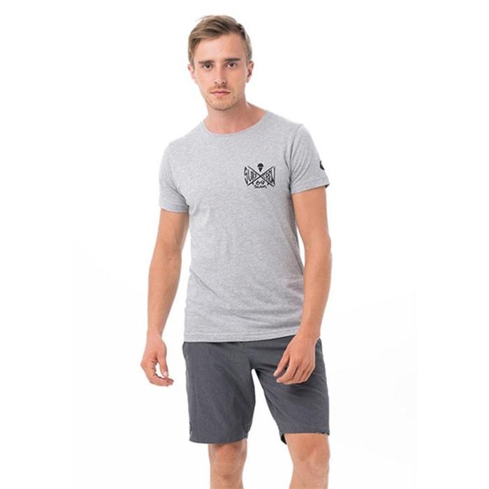 [69슬램] 남여공용 발랑안(그레이) 디프런 티셔츠