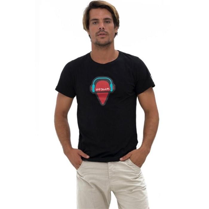 [69슬램] 남여공용 쌜모네(블랙) 디앤에이 티셔츠