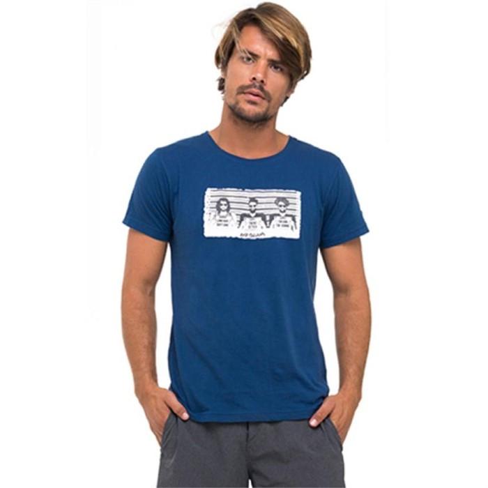 [69슬램] 남여공용 유주얼 서스펙트(네이비) 디프런 티셔츠