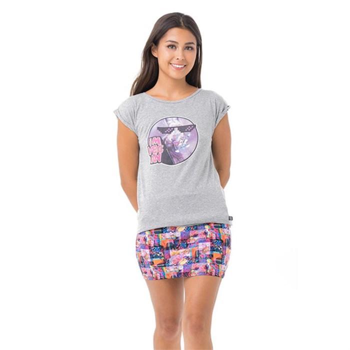 [69슬램] 여성 비건 레빗 엘리샤 티셔츠