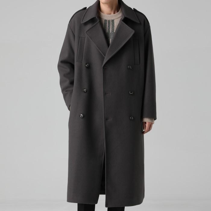 [티아그]  마틴 울 맥시 코트 (3col)