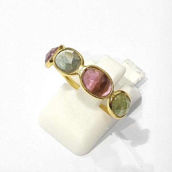 [블루케이] 투어마린 원석 반지 n191120-01