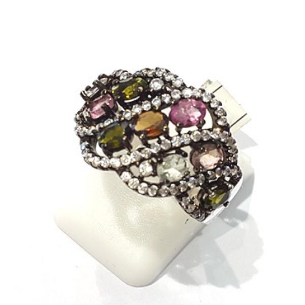 [블루케이] 투어마린 원석 반지 n191120-02
