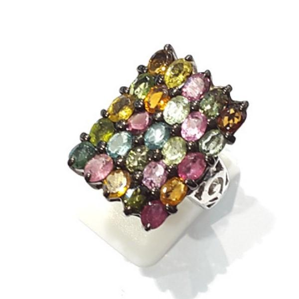 [블루케이] 투어마린 원석 반지 n191120-03