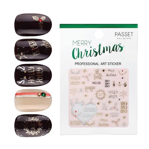 PASSET 파셋 크리스마스 아트 스티커 no.25