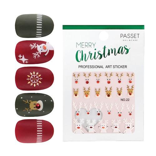 PASSET 파셋 크리스마스 아트 스티커 no.22