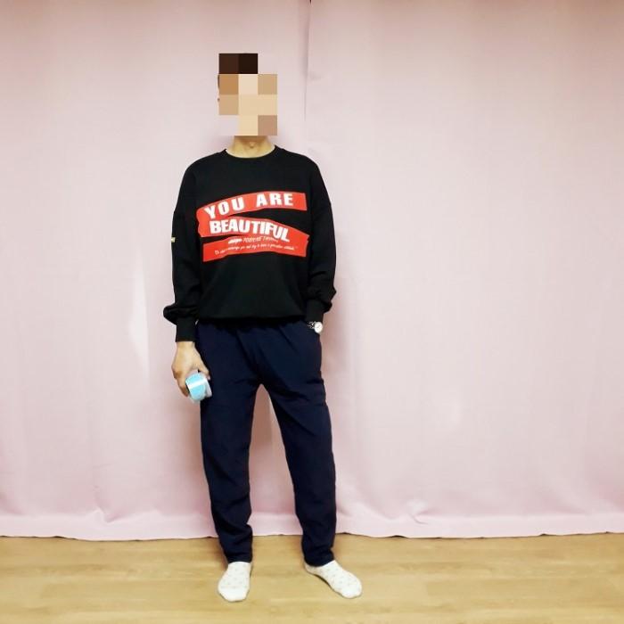 [살구씨마켓] 큐티&빅 남녀공용 트레이닝 밍크기모 핫팩 기모바지 추리닝 일자핏 2종