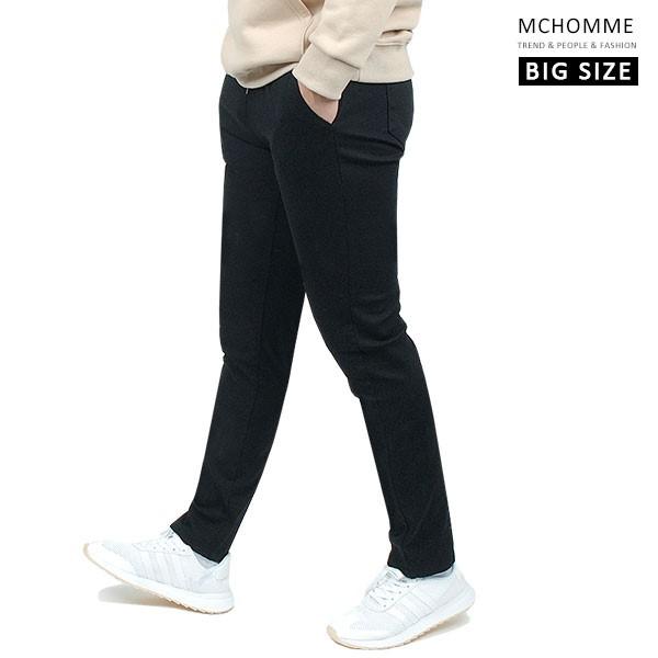 엠씨옴므 빅사이즈(~40 size) 스판 스키니진 블랙 데님 밴딩 팬츠 DK19S111_B2