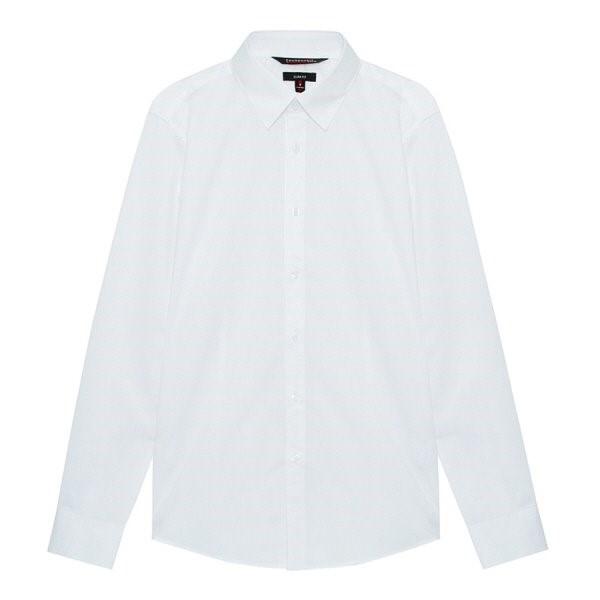 지이크.F NC05 슬림핏 화이트 드레스 셔츠 FYB5061