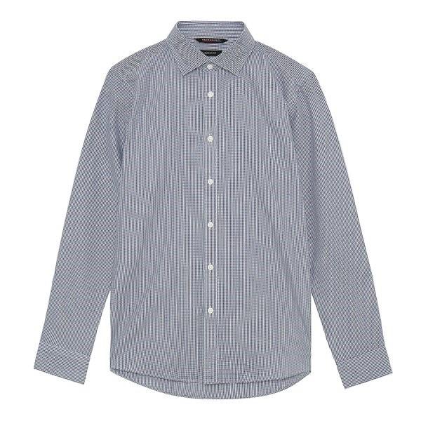 지이크.F NC05 클래식 핏 패턴 체크 셔츠 FYB5107