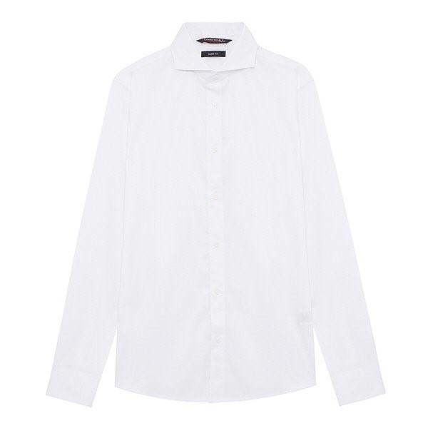 지이크.F NC05 슬립핏 컷어웨이 드레스 셔츠 FYB5001