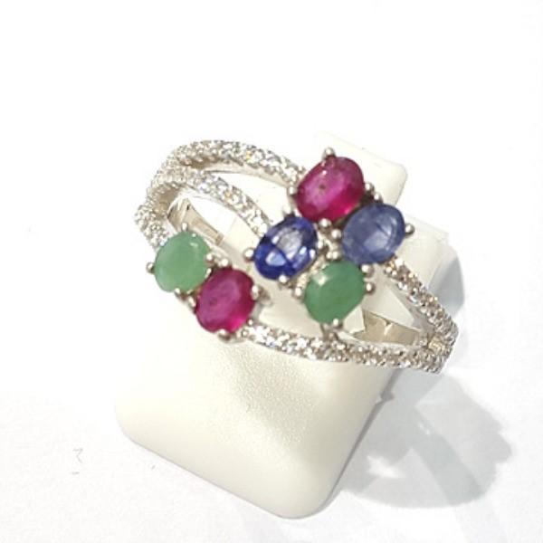 [블루케이] 루비 사파이어 에메랄드 원석 반지 n191121-09