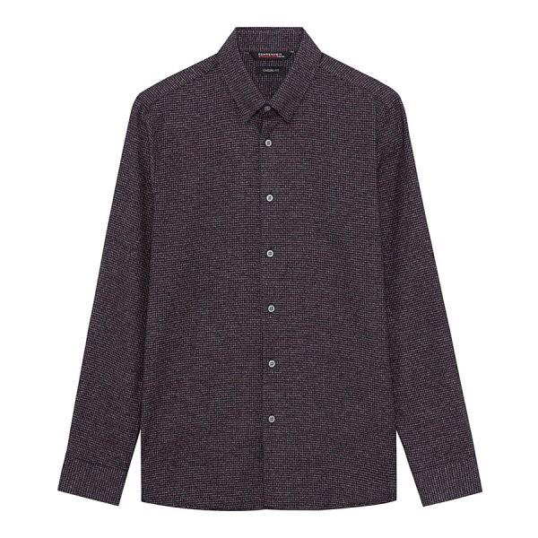 지이크.F NC05 캐주얼핏 코튼 와인 패턴 셔츠 FYB5317