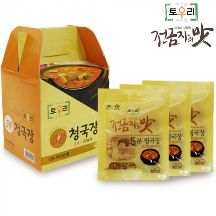 [토우리] 전금자의맛 함안 전통식품 5분 청국장 1박스