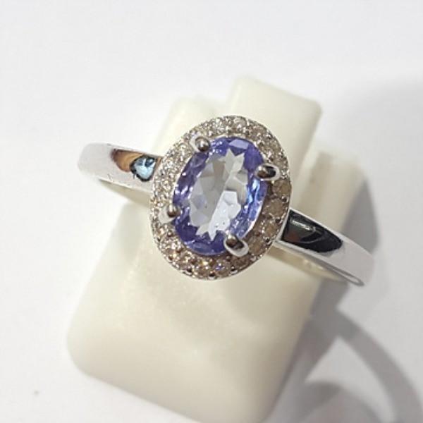 [블루케이] 탄자나이트 원석 반지 n191201-17