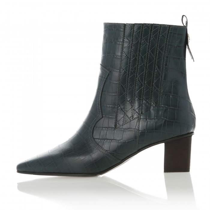 [메이엘듀] Western Boots MD19FW1049 Green