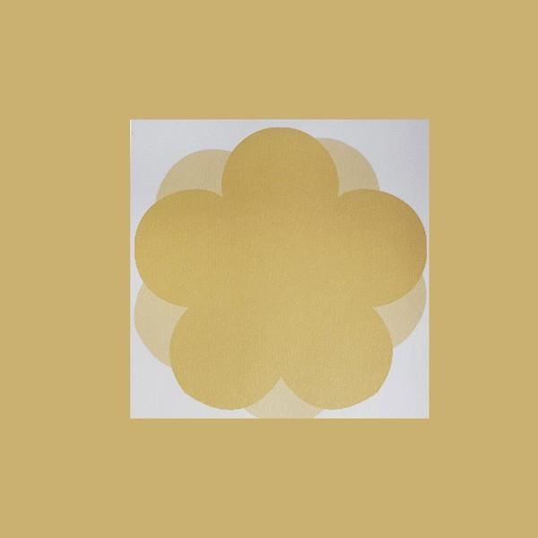 심플 노랑 오얏꽃 떡메모지 메모지 시리즈