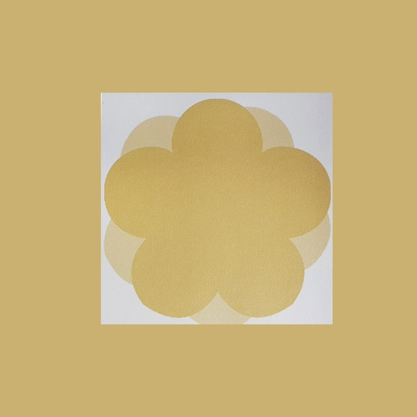 심플 노랑 오얏꽃 떡메모지 메모지 시리즈 공부스타그램 문구 굿즈