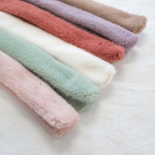 [마쉬옐로우] 겨울신상 소프트 밍크 머플러 (6colors)