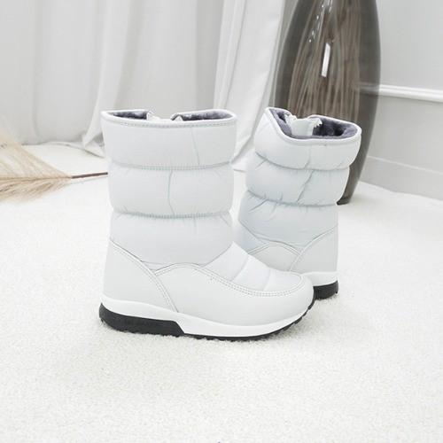 [한나] 티모 퍼안감 초등방한부츠 베이직 주니어털신발