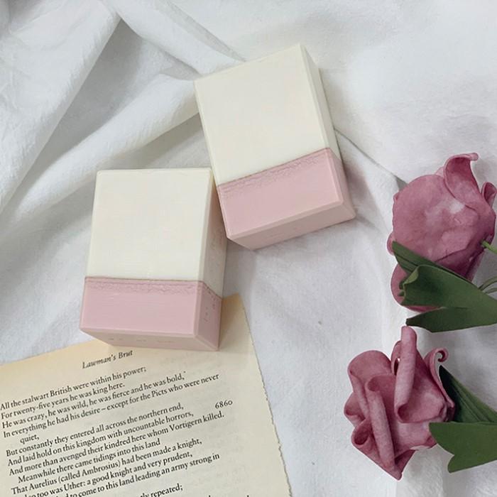 [더붐컴퍼니] 핑크투톤 CP비누 보습 촉촉 핸드메이드 천연비누
