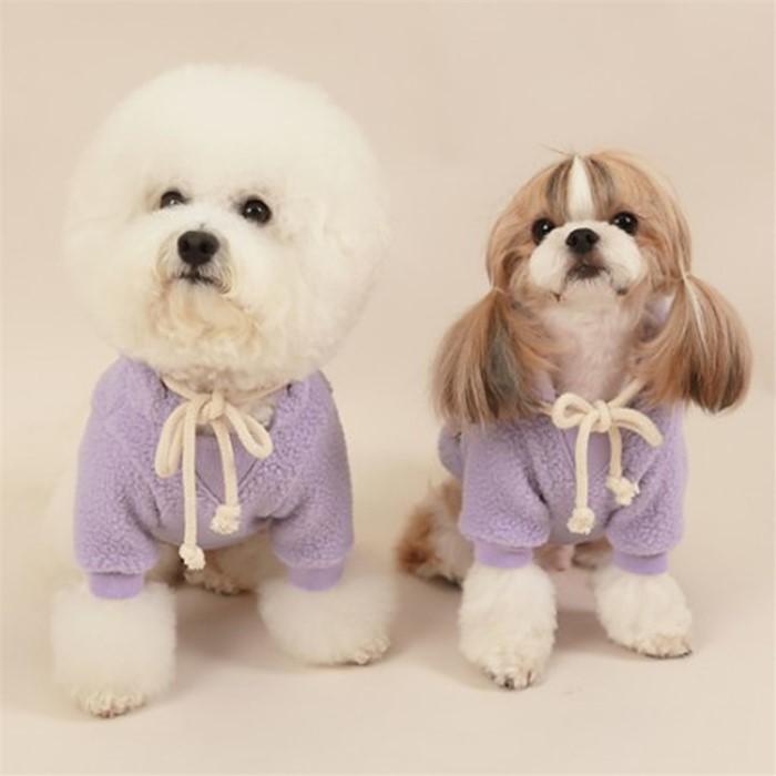[댕댕이의 플렉스] 강아지 의류 겨울 양털후리스 플리스