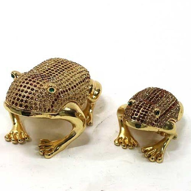 골드큐빅두꺼비보석함A