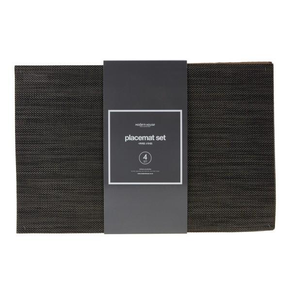 모던하우스 NC02 베이직 식탁매트 브라운4P PL0318078
