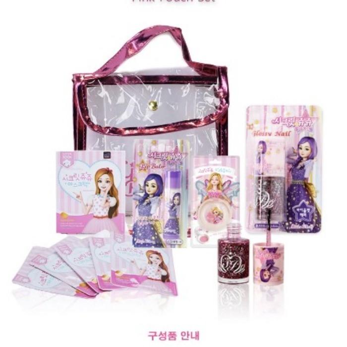 로엠걸즈 NC08 쥬쥬 별의여신 파우치세트 RGAF19AOJ