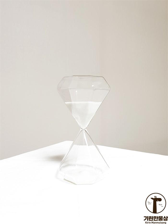[기린만물상] 15분 화이트 대형 모래시계