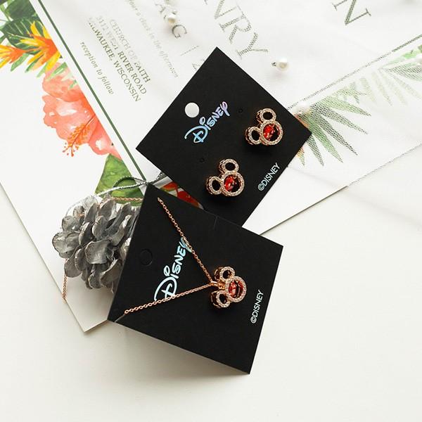 [귀걸이+목걸이] [디즈니 정품] 샤인 미키 세트