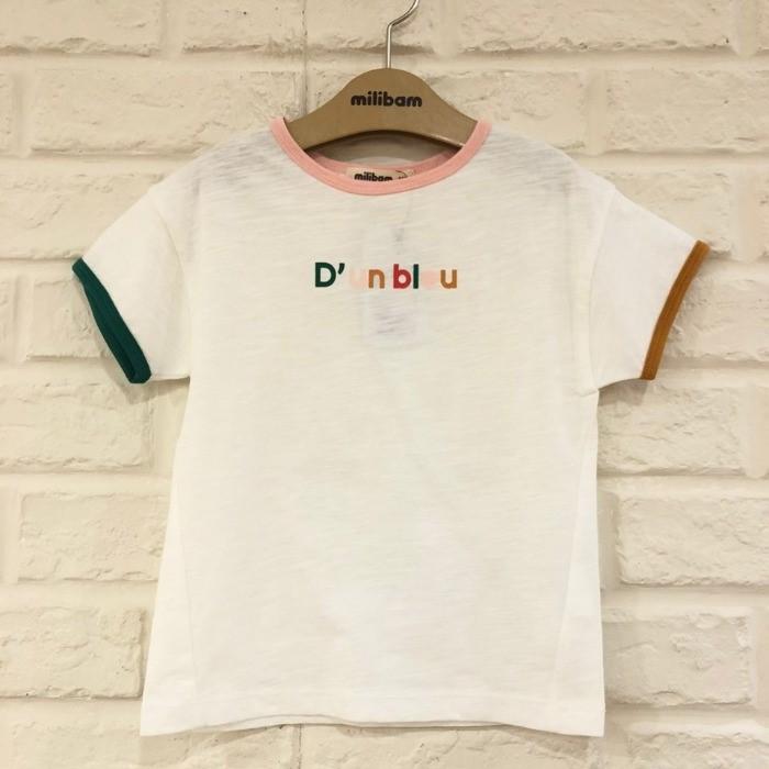밀리밤 NC05 배색 3색 티셔츠 MLRA20464