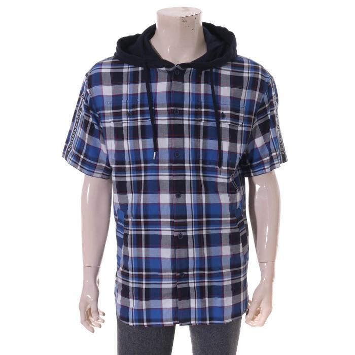 클랑드앤 GD01 cjbsh232m 5부체크후드셔츠