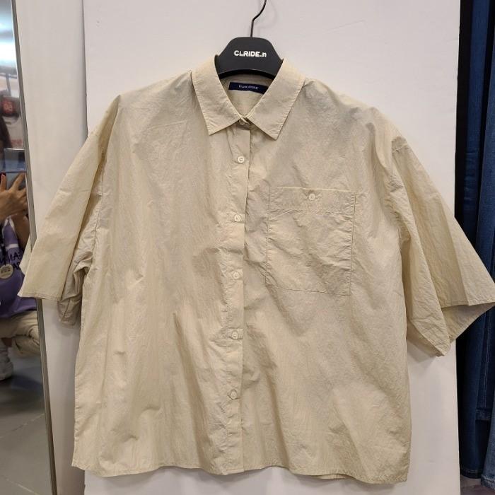 클라이드 NC02 여자발팔셔츠 FKBSH771F