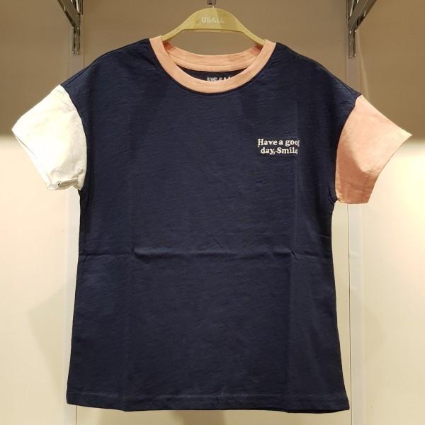 유솔 NC05 어깨 절개  하트 티셔츠 ULRA826G01