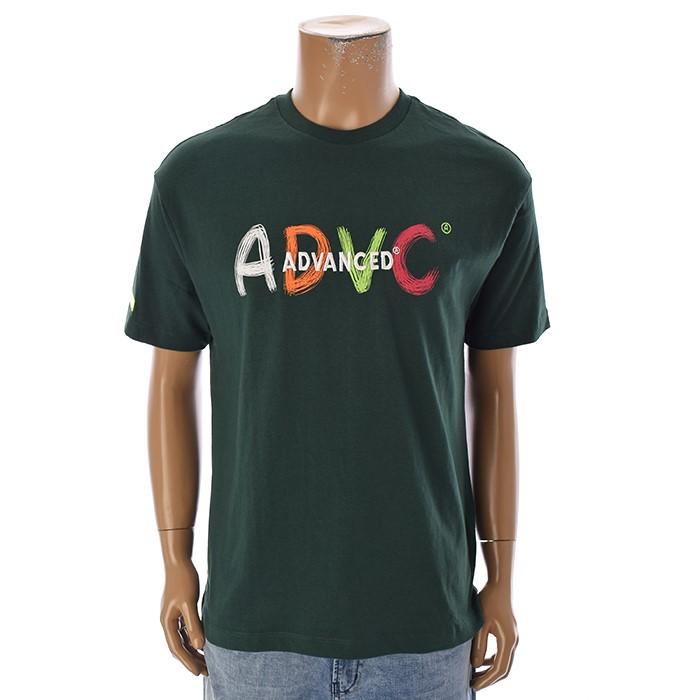 TBJ NC02 남성 레터링 티셔츠 T192TS009P 그린
