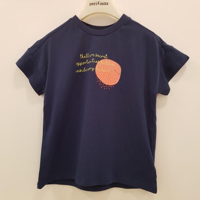 페리미츠 NC08 남여공용박시 티셔츠 P1965T504