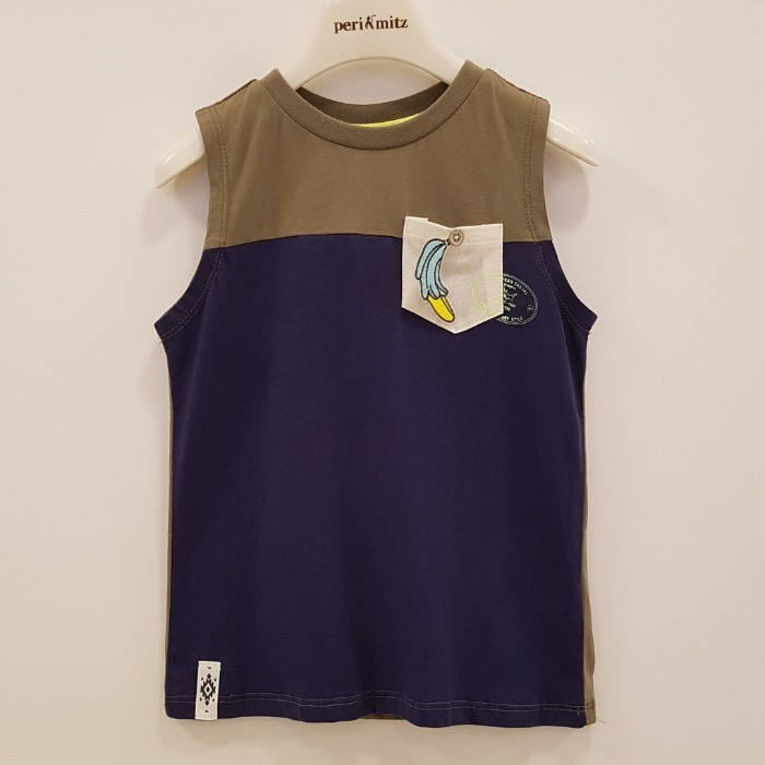 페리미츠 NC08 절개 나시 티셔츠 P1965T506