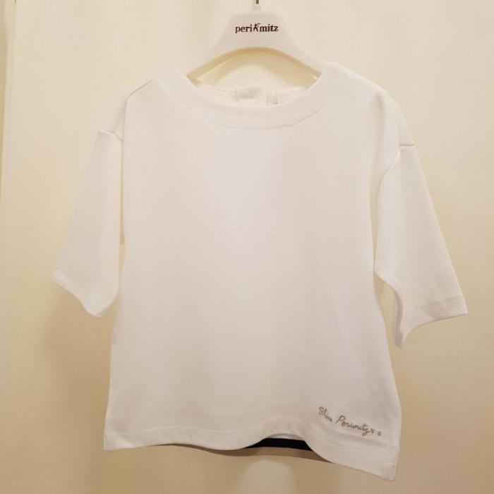 페리미츠 NC08 러블리 요꼬장식 티셔츠 P1921T157